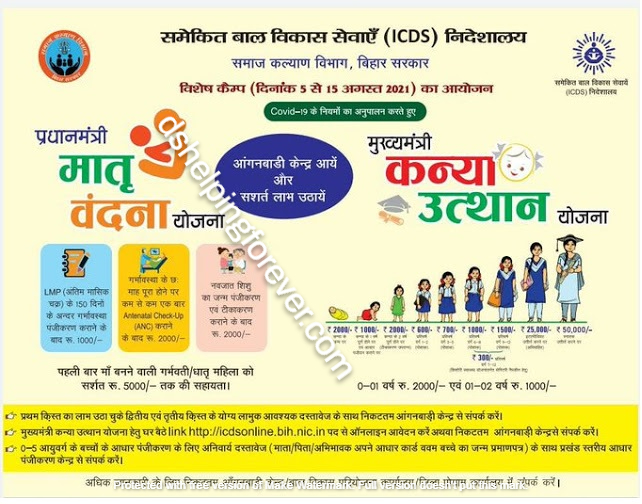 icds yojana 2021 ds helping forever